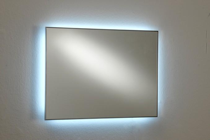 Specchio su misura retroillumi 11 12 luci e lampade - Specchio su misura ikea ...