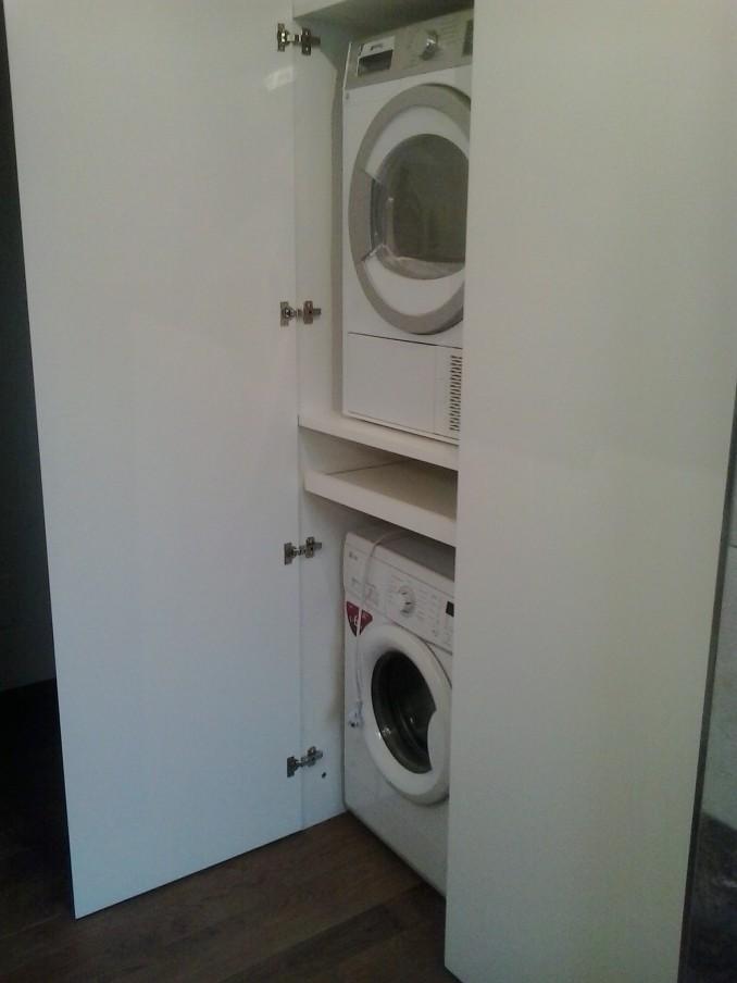 Una macchina sopra l 39 altra 4 8 colonne lavasciuga for Mobile sopra lavatrice