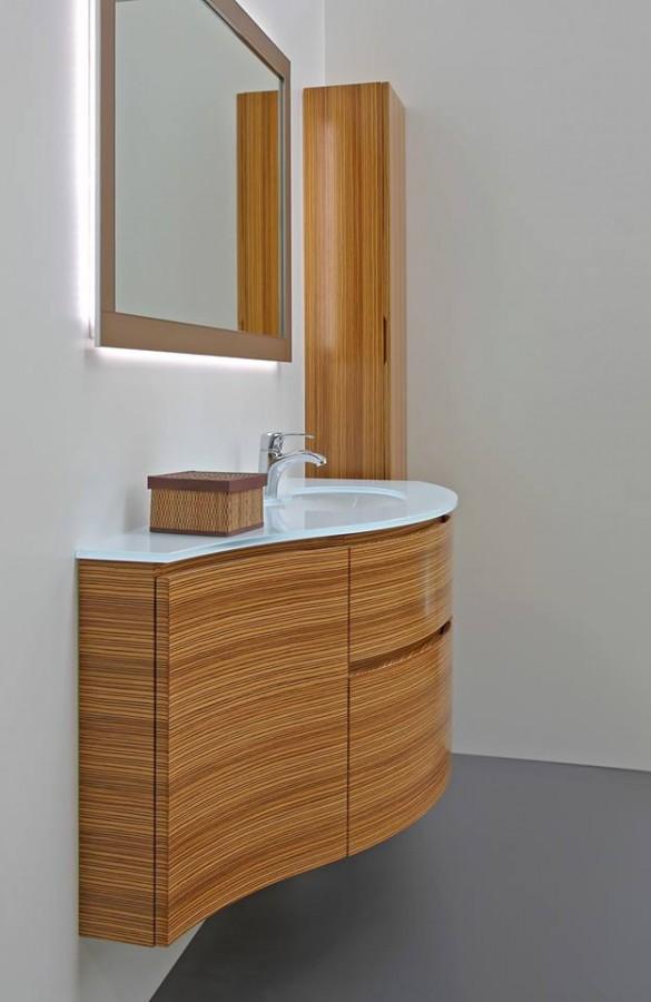 piani in vetro e lavabi craquele : TOP VETRO LAVABO INTEGRATO 6/7 PIANI IN VETRO
