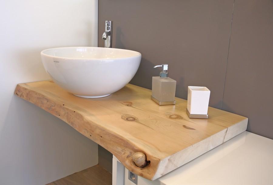 Cirmolo in crosta 6 7 piani in massello - Top bagno legno massello ...